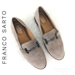 Franco Sarto Harlow Suede Loafers